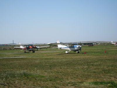rondvluchten vanuit  vliegveld Ballum